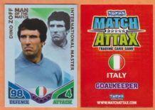 Italy Dino Zoff Man of the Match International Master
